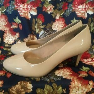 New Sexy Nude Heels Size 13 Wide